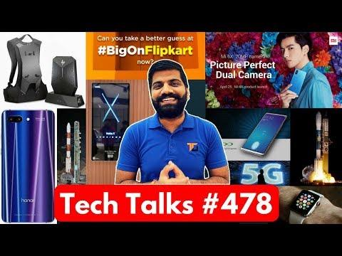 Tech Talks #478 - Nokia X, Samsung Notch, Mi A2, Oppo Fingerprint, OnePlus Avengers, Whatsapp Pay