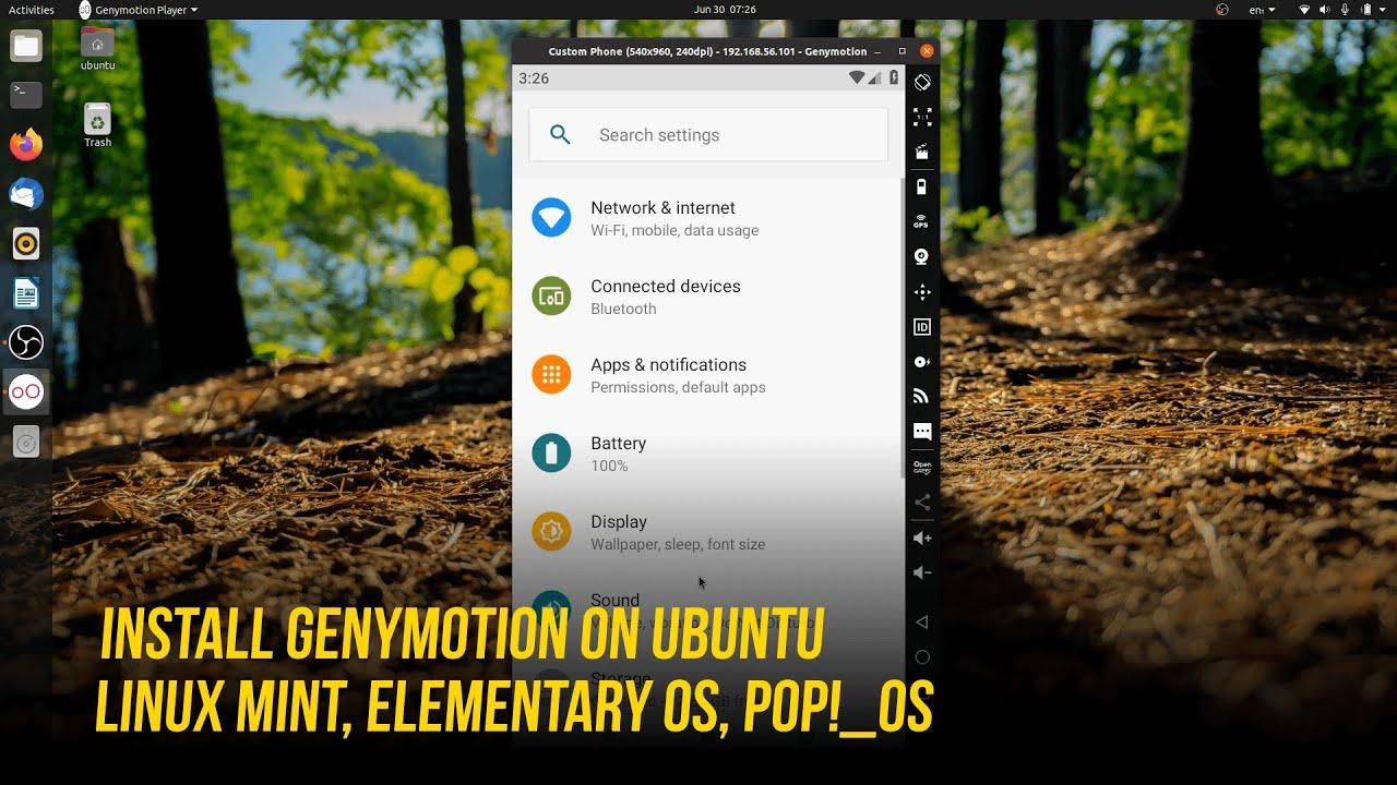 GenyMotion Free mejor emulador de android en tu pc (Personal Edition)