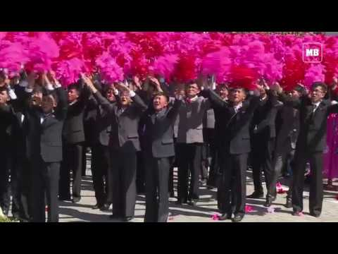 North Korea holds 70th anniversary parade, without ICBMs