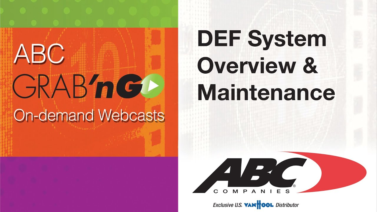 Gg020 Grab Ngo Def System Overview Amp Maintenance Youtube