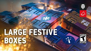 Large Festive Boxes: What Premium Tanks Are Inside? [World of Tanks]