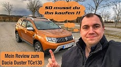 Dacia Duster TCe 130 2020 - So musst du ihn kaufen | FULL Review - TEST