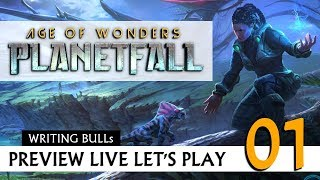 Preview Live Let\'s Play: Age of Wonders Planetfall (01) [Deutsch] | 16.05.2019