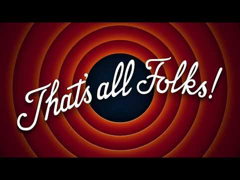 That's All Folks - Bugs Bunny