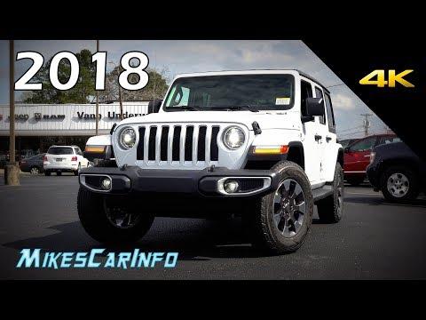 2018 Jeep Wrangler Unlimited Sahara JL - Ultimate In-Depth Look in 4K