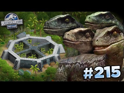 RAPTOR SQUAD IS HERE!!!    Jurassic World - The Game - Ep215 HD