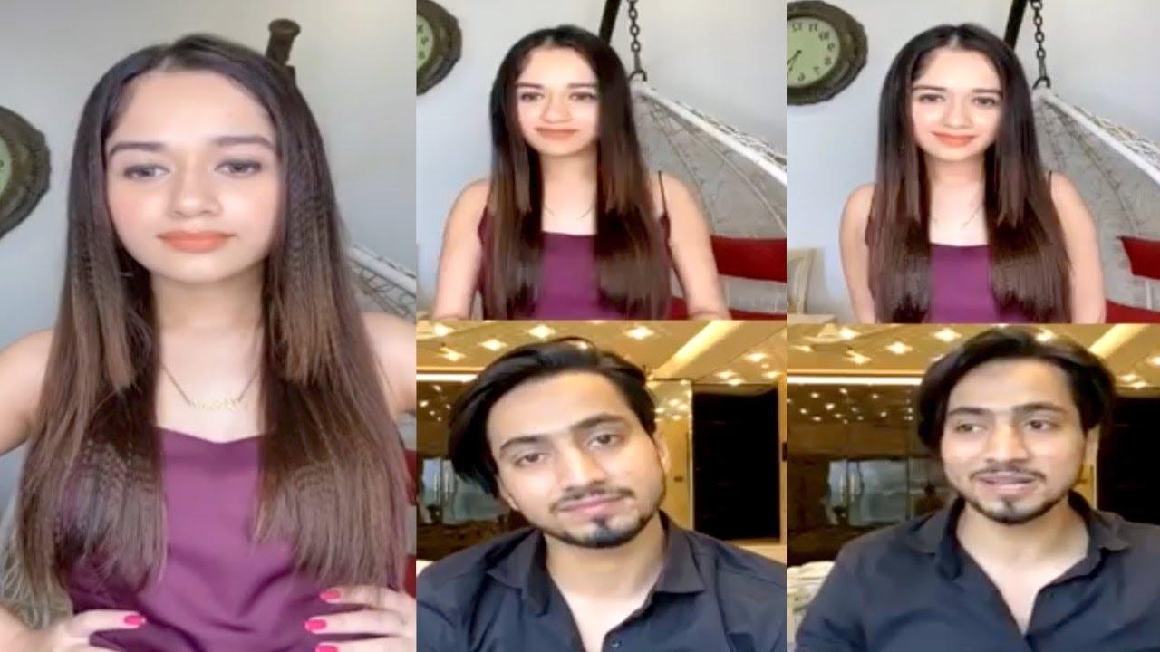 Jannat Zubair LIVE 🔴 Chat With Mr Faisu || FUNNY Moments