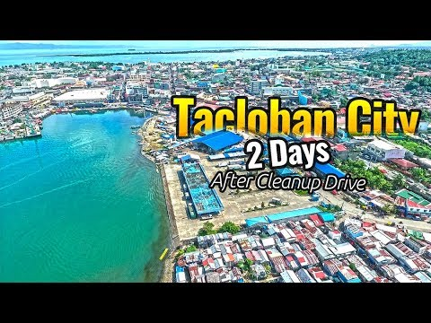 Tacloban City After Cleanup Drive