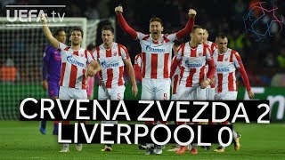 CRVENA ZVEZDA 2-0 LIVERPOOL #UCL HIGHLIGHTS