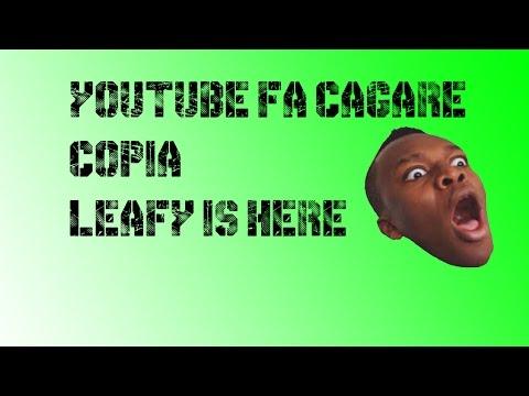 YoutubeFaCagare COPIA LeafyIsHere: IL VIDEO CHE PROVA TUTTO!!! [YOUTUBER EXPOSED] By Gta Tv