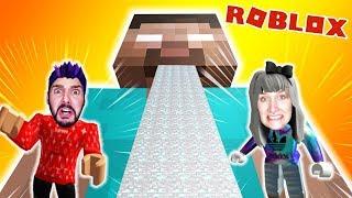 Roblox: AUS MINECRAFT ENTKOMMEN! KAAN & NINA VOR HEROBRINE ABHAUEN! Escape Minecraft Obby Deutsch