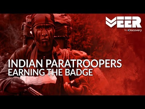 Indian Paratroopers - Earning the Badge | Testing the Will Power of Paratroopers | Veer by Discovery