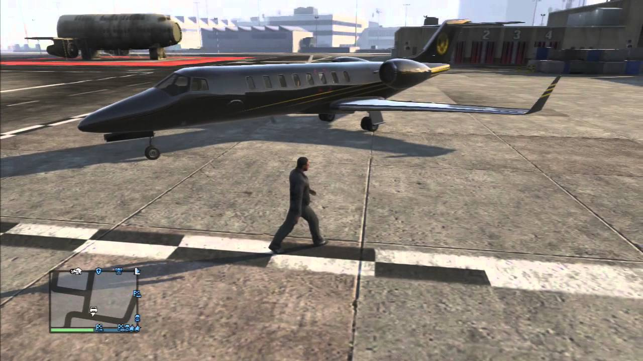Jet Privato Gta 5 : Grand theft auto gta v online luxor private jet youtube