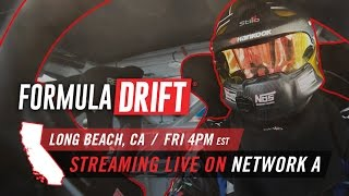 Formula DRIFT - Long Beach Live Stream thumbnail