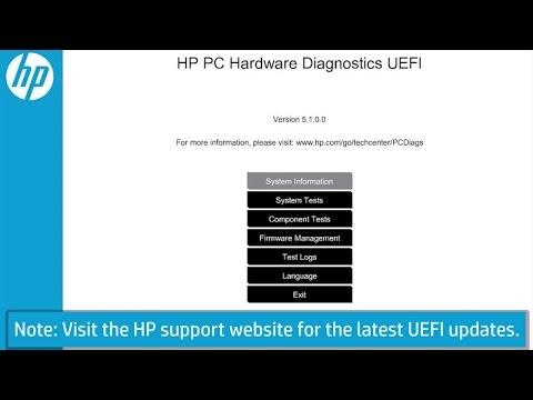 Hp Laptop Diagnostics Tests