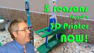 5 reasons to buy a 3D printer, even if you're not a 3D designer(, 2017-02-28T21:30:00.000Z)