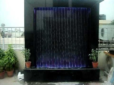 String Water Curtain Avi Youtube