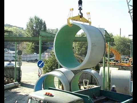 Производство железобетонных труб