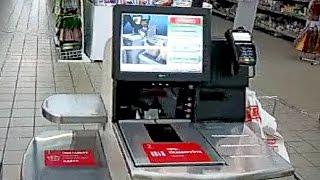 #Касса #без #кассира. Терминал автоматической оплаты в магазине