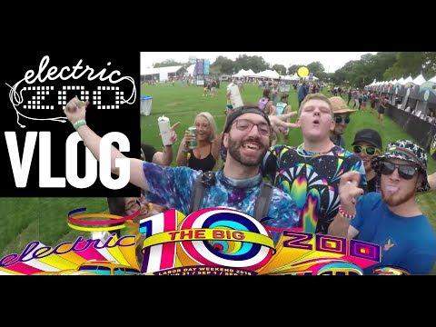 ELECTRIC ZOO 2018 DAY 1 FESTIVLOG