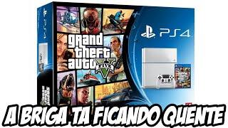 Playstation 4 terá bundle de GTA V - A BRIGA TA FICANDO QUENTE