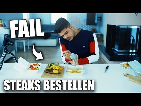STEAKS BESTELLEN IM TEST | Essen & Bewerten