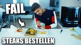 STEAKS BESTELLEN IM TEST   Essen & Bewerten
