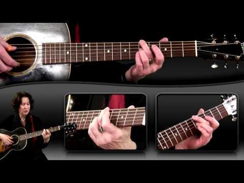 Blues Guitar Lesson – Drop D Tuning