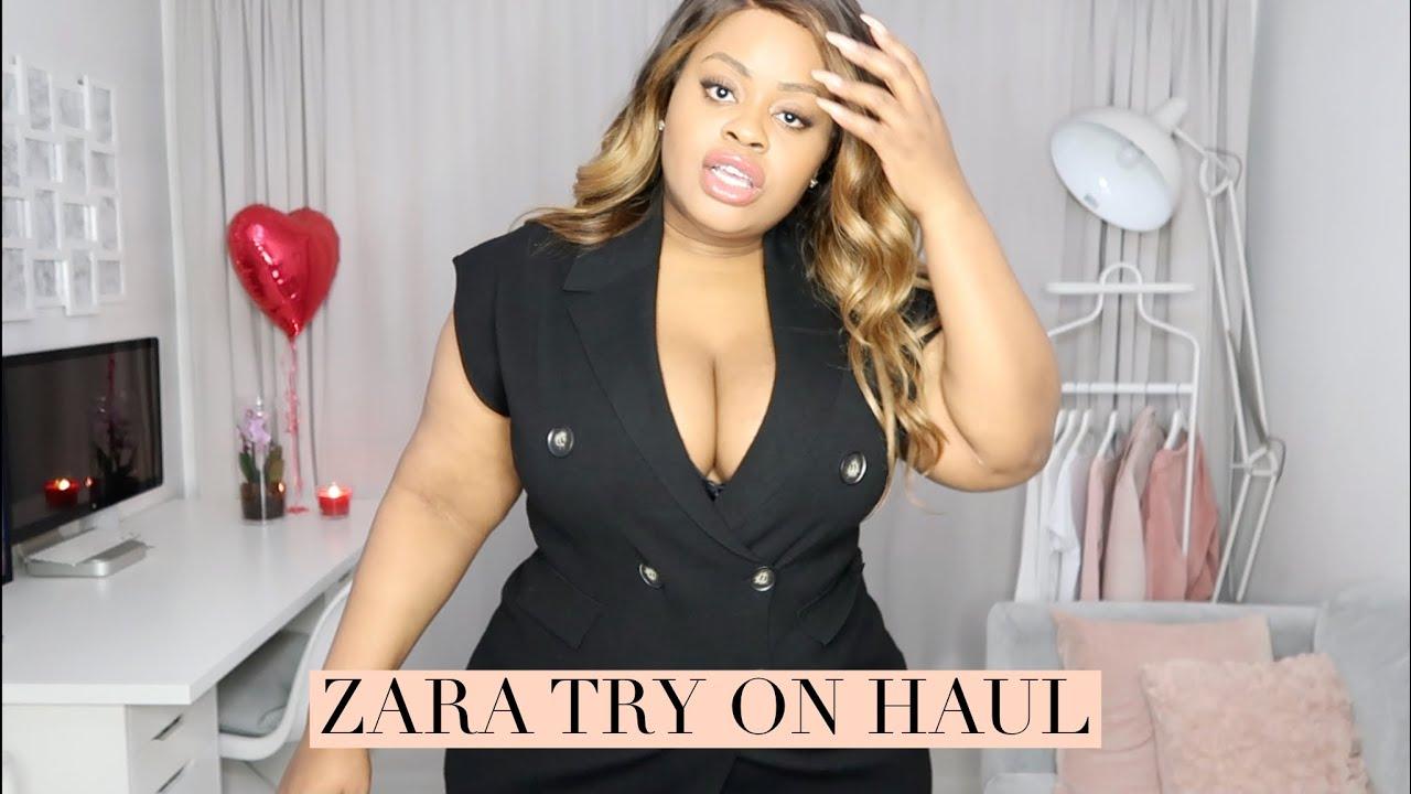 Will It Fit? Plus Size Zara Try On Haul | Edee Beau