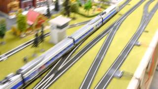 Two Mehano High Speed Trains - SNCF TGV and Thalys EMUs