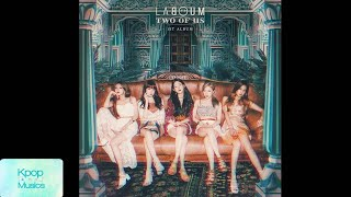Laboum (라붐) ('the 1st album'[two of us]) audio track list: 1. intro 2. firework (불꽃놀이) 3. you're the light (잡아줄게) 4. satellite 5. stay there.. (이별 앞에서) 6. tw...