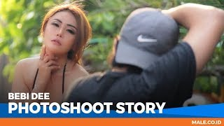 BEBI DEE  di Behind the Scenes Photoshoot - Male Indonesia | Model Seksi Indo