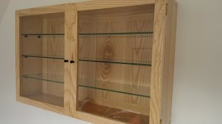 This is the making of an Ash Display Cabinet I made in 2012 + lessons I learned. At this stage of my woodworking journey I had ...