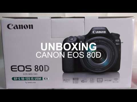 Review EOS 80D Indonesia: Unboxing