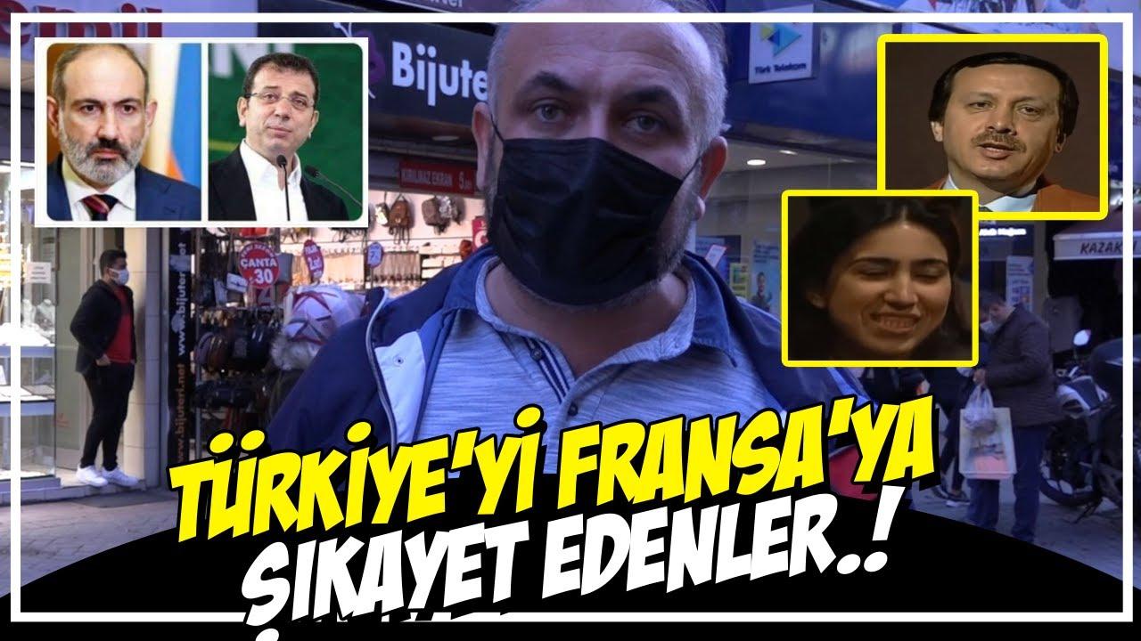 İmamoğlu ve Pasinyan? Türkiye'yi  Fransa'ya  Şikayet Etti..!  Vatandaşın Yorumu..!