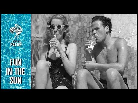 Feeling Hot Hot Hot | British Pathé