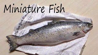 Realistic Miniature Fish / Salmon - Polymer Clay Tutorial