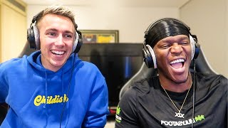 KSI REACTS TO MY REDDIT