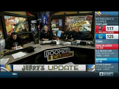 Boomer and Carton - One reason why Craig Dislikes Mike Francesca