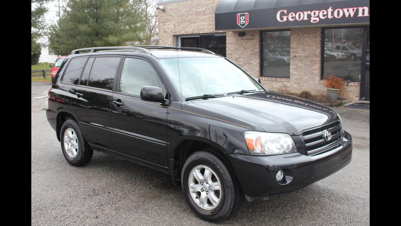 used 2006 toyota highlander 4x4 3rd row for sale georgetown auto sales ky kentucky sold youtube. Black Bedroom Furniture Sets. Home Design Ideas