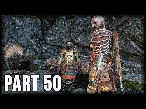 God of War - 100% Walkthrough Part 50 [PS4] – Favor: Ivaldi's Curse