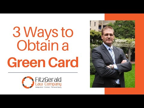 3 Common Ways to Obtain U.S. Permanent Residence/Green Card