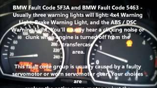 BMW X3 E83 X5 E53 Transfer Case  Failures & Actuator Motor Gear Replacement