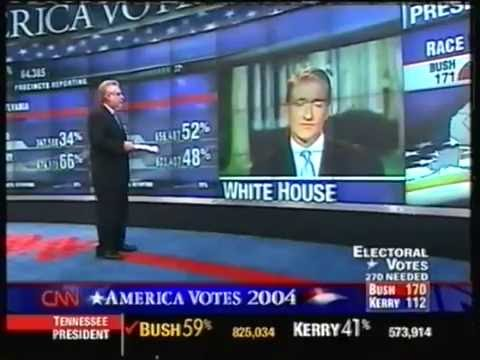 CNN Election Night 2004 - Complete Coverage 10,5 hours!