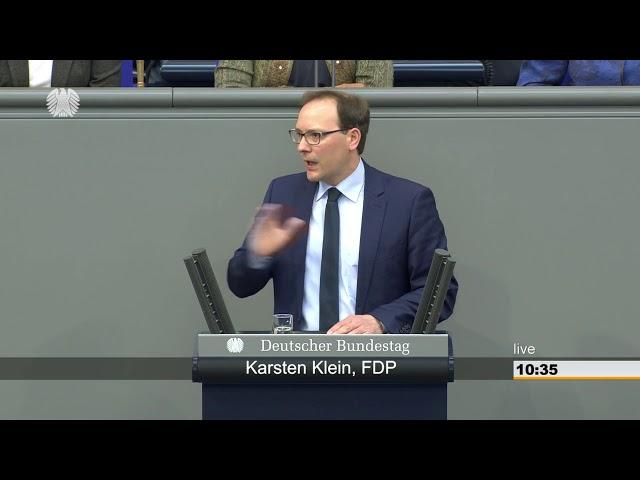 MdB Karsten Klein, FDP: Rede zum AfD Antrag Rückabwicklung von Finanzhilfen für Griechenland