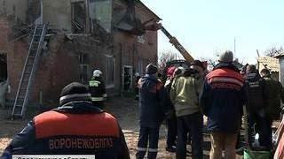 При взрыве газа в доме под Воронежем погиб один человек