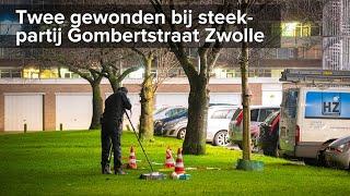 Twee gewonden bij steekpartij Gombertstraat Zwolle - ©StefanVerkerk.nl