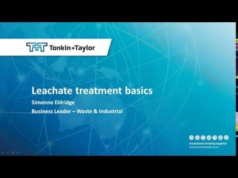 WasteMINZ Webinar: Leachate Treatment Basics