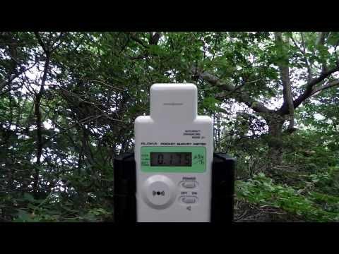 群馬の放射線測定・榛名相馬山への道その2