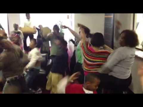 City Day Community School Harlem Shake Rehearsal